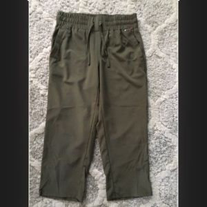 Champion Olive Green Capri Workout Pants